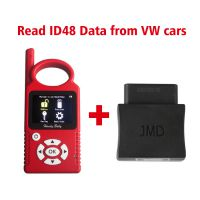Handy Baby Hand-held Auto Key Programme Plus JMD Assistant OBD Adapter Read ID48 Data from VW Cars Add 96 Bit 48 Online Copy Free