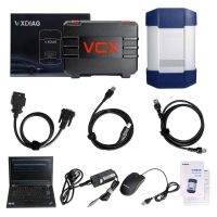 VXDIAG Multi Diagnostic Tool for Full Brands HONDA/GM/VW/FORD/MAZDA/TOYOTA/PIWIS/Subaru/VOLVO/ BMW/BENZ with 1TB HDD &  Lenovo T420